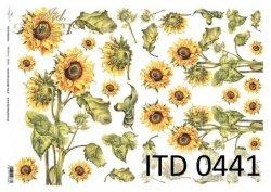 Papier decoupage ITD D0441