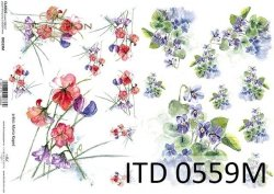 Papier decoupage ITD D0559M