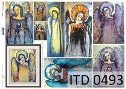 Papier decoupage ITD D0493
