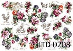 Papier decoupage ITD D0208