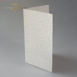 Baza do kartki BDK-025 - 185x107 mm * Kremowa, gałązki