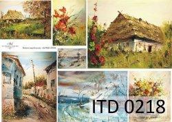 Papier decoupage ITD D0218