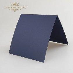 Baza do kartki 132x132 mm * Granatowa