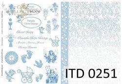 Papier decoupage ITD D0251