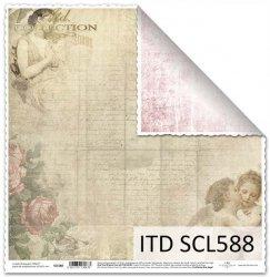 Papier scrapbooking SCL588