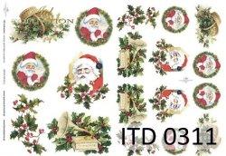 Papier decoupage ITD D0311
