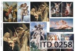 Papier decoupage ITD D0258