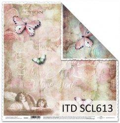 Papier scrapbooking SCL613