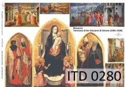 Papier decoupage ITD D0280