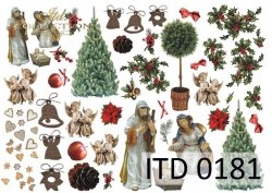 Papier decoupage ITD D0181