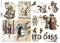 Papier decoupage ITD D0455