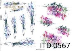 Papier decoupage ITD D0567