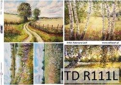 Papier ryżowy ITD R0111L