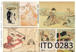 Papier decoupage ITD D0283