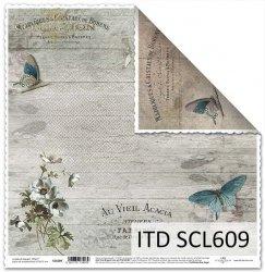 Papier scrapbooking SCL609