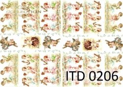 Papier decoupage ITD D0206