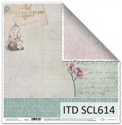 Papier scrapbooking SCL614