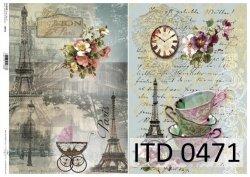 Papier decoupage ITD D0471