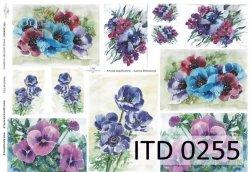 Papier decoupage ITD D0255