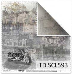 Papier scrapbooking SCL593