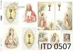 Papier decoupage ITD D0507