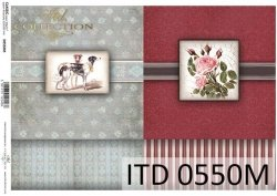 Papier decoupage ITD D0550M