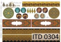 Papier decoupage ITD D0304