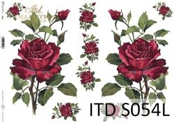 Papier decoupage SOFT ITD S0054L