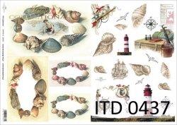 Papier decoupage ITD D0437