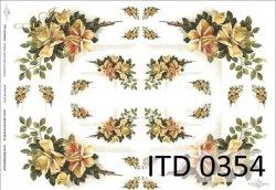 Papier decoupage ITD D0354