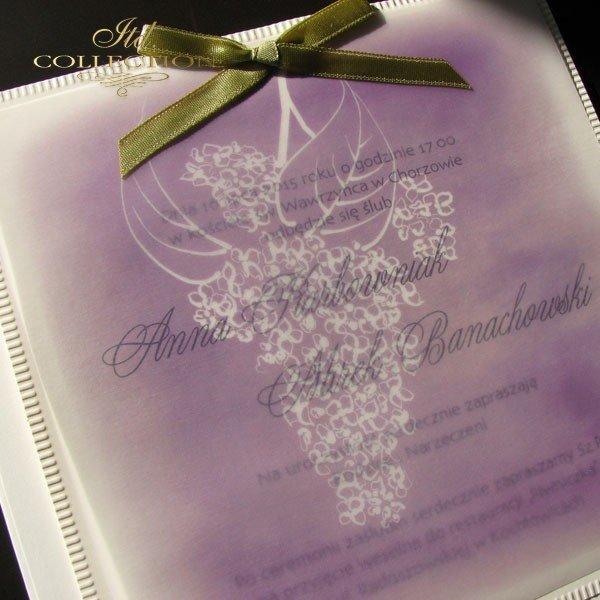 Einladungskarten / Hochzeitskarte 01709
