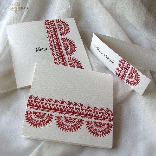 Einladungskarten / Hochzeitskarte 1717