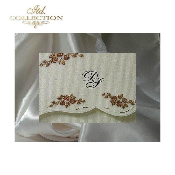 Einladungskarten / Hochzeitskarte 1212