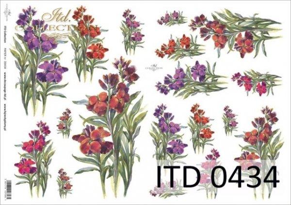 Decoupage paper ITD D0434