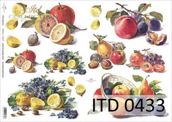Decoupage paper ITD D0433