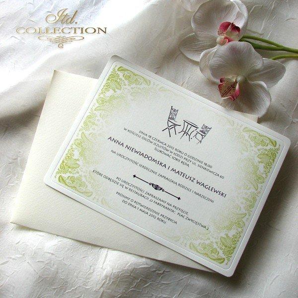 Invitations / Wedding Invitation 01738_cafe