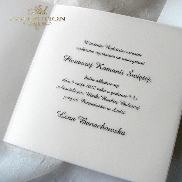 Holy Communion Invitation 1731_006 with photo