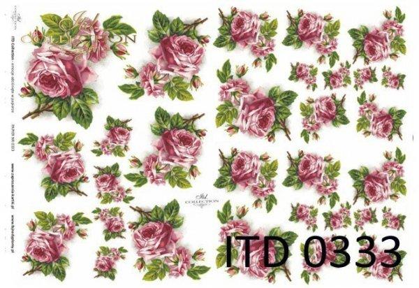 Decoupage paper ITD D0333