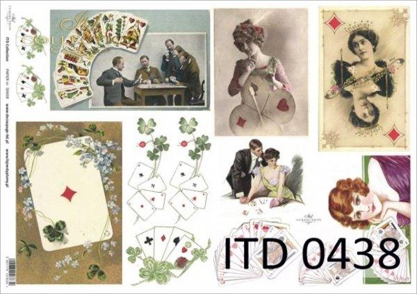 Decoupage paper ITD D0438
