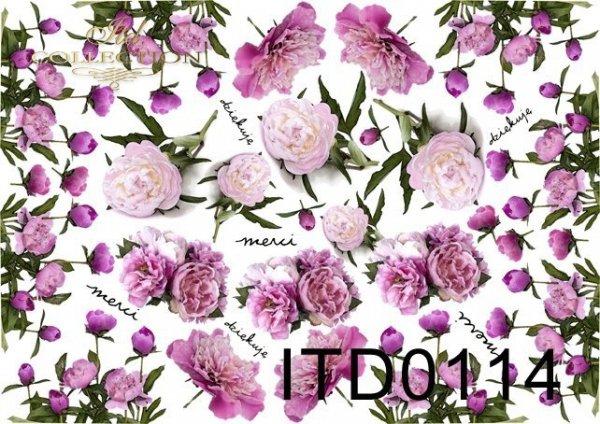 Decoupage paper ITD D0114