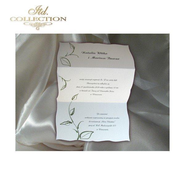 Invitations / Wedding Invitation 1456