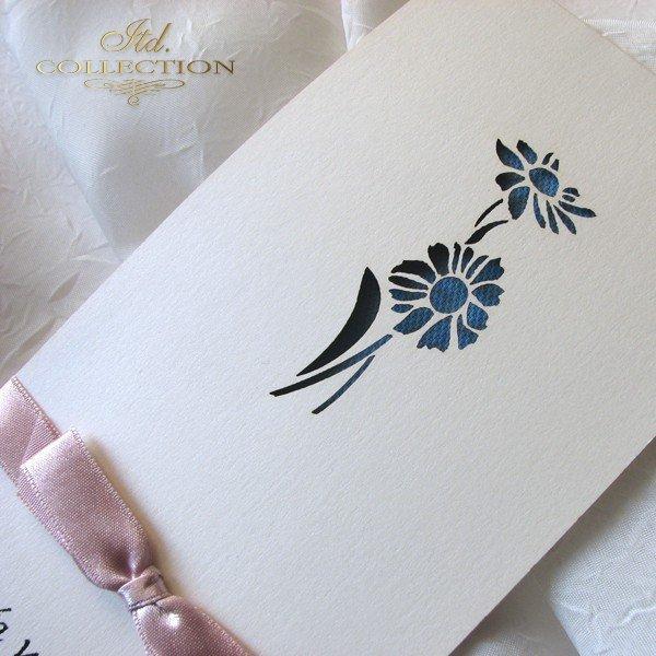 Invitations / Wedding Invitation 01722_72_blue