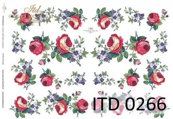 Decoupage paper ITD D0266