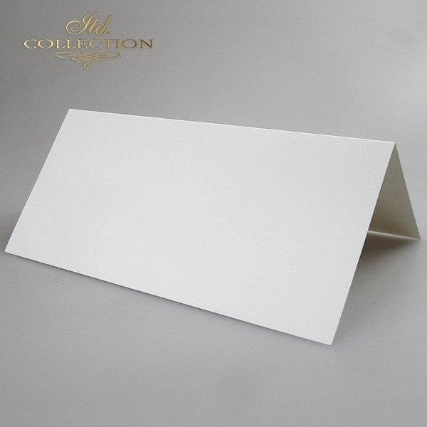 Baza do kartki 210x100 mm * Kremowa-opalizująca