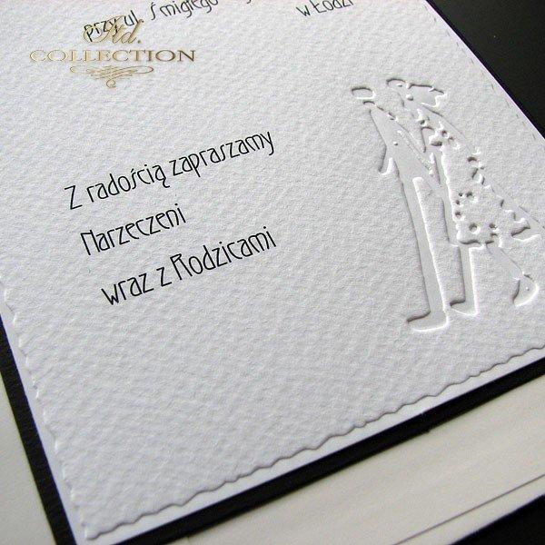 Einladungskarten / Hochzeitskarte 1711