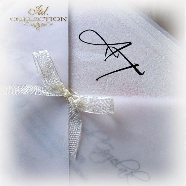 Einladungskarten / Hochzeitskarte 01721_Apfelblüte