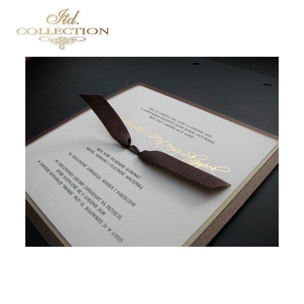 Einladungskarten / Hochzeitskarte 1461