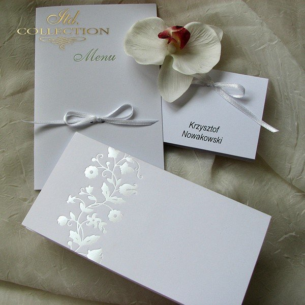 Einladungskarten / Hochzeitskarte 1519