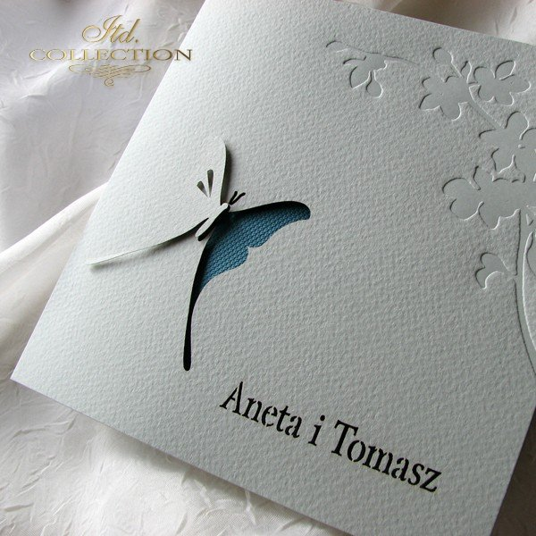 Invitations / Wedding Invitation 01724_18_turquoise