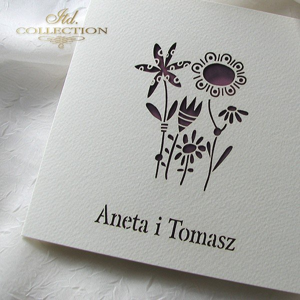 Invitations / Wedding Invitation 01732_56_claret